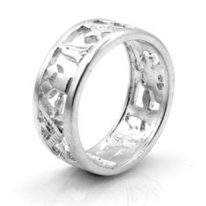 Regalia Store UK 1-141-300x300 Solid Silver 925 Masonic Wedding Ring