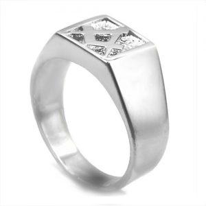 Regalia Store UK 1-145-300x300 Solid Silver Masonic Free Mason Signet Ring