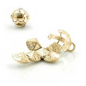 Regalia Store UK 1-33-300x300 9ct Yellow Gold Masonic Handmade Orb Fob Ball Cross Pendant-Small