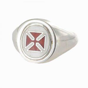 Regalia Store UK 1-390-300x300 Reversible Solid Silver Knights Templar Masonic Ring