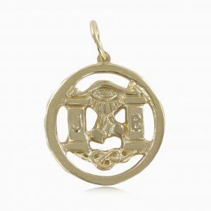 Regalia Store UK 1-43-300x300 Solid 9ct Yellow Gold Masonic Pendant