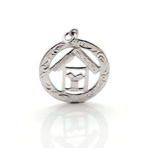 Regalia Store UK 1-72-300x300 Sterling Silver 925 Masonic Pendant with TAU Symbol