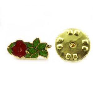 Regalia Store UK 1-86-300x300 Gilt Metal and Enamel Rose Croix Masonic Lapel Pin