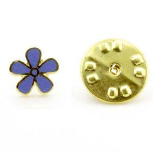 Regalia Store UK 1-88-300x300 Gilt Metal Forget Me Not Masonic Lapel Pin (or Badge)