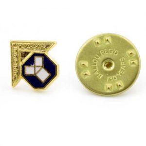 Regalia Store UK 1-94-300x300 Gilt Metal Past Master's Masonic Lapel Pin
