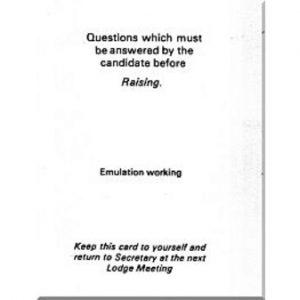 Regalia Store UK 11-1-300x300 Emulation Raising Question Card
