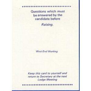 Regalia Store UK 1334250103_61-300x300 West End Working Raising Card