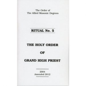Regalia Store UK 1336643989_69-300x300 Allied Masonic Degrees Ritual No 5 - Holy Order of Grand High Priest