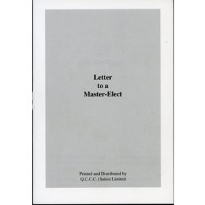 Regalia Store UK 1336660614_45-300x300 Letter To A Master Elect