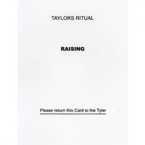 Regalia Store UK 1342446031_96-300x300 Taylor's Raising Question Card