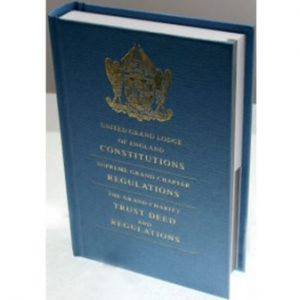 Regalia Store UK 1486397855_6414-300x300 Book of Constitutions United Grand Lodge of England - 2019 Edition