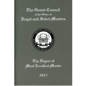 Regalia Store UK 1514028358_8538-300x300 RSM Most Excellent Master Ritual