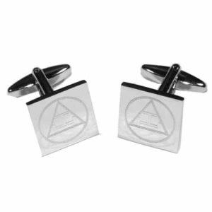 Regalia Store UK 5186boem11-300x300 Masonic Tau Engraved Cufflinks