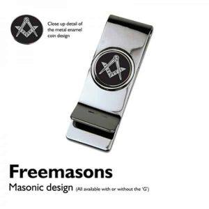 "Regalia Store UK 9846masonicblackmoneyclip-300x300 XMMC-MasonicBlack (no ""G"") Coin Moneyclip"