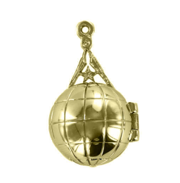 Regalia Store UK 9A Rare Masonic Ladder Orb – Solid Silver and Gold Plated