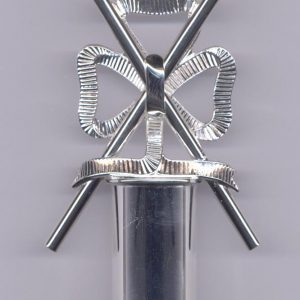Regalia Store UK CR31-300x300 Craft Lodge Officers D.C. Baton Top Only