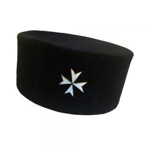Regalia Store UK Knights-of-Malta-Cap-with-Badge-300x300 Knights Of Malta Cap With Badge