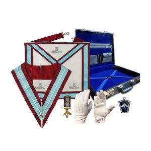 Regalia Store UK Mark-Worshipful-Masters-Regalia-Set-2-300x300 Mark Worshipful Master Mason Apron Regalia Set [Set 2]