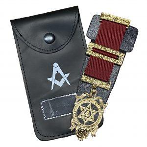 Regalia Store UK Masonic-Breast-Jewel-Holder-300x300 Masonic Leather Breast Jewel Case