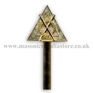 Regalia Store UK RA32A-Royal-Arch-Baton-Director-of-Ceremonies-300x300 Royal Arch Wand Top Only [Director Of Ceremonies]