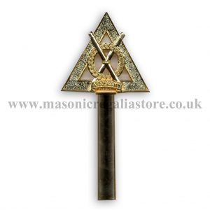 Regalia Store UK RA32B-Royal-Arch-Baton-Assistant-Director-of-Ceremonnies-300x300 Royal Arch Wand Top Only [Assistant Director Of Ceremonies]