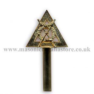 Regalia Store UK RA32C-Royal-Arch-Baton-Deputy-Director-of-Ceremonies-300x300 Royal Arch Wand Top Only [Deputy Director Of Ceremonies]