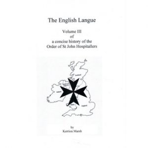 Regalia Store UK cover3_1569038557-300x300 Knights of St John Vol. III - The English Langue