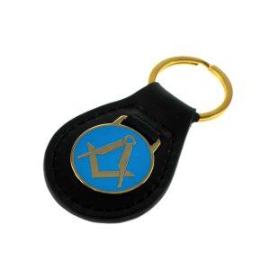 Regalia Store UK dsc_2817_1-300x300 Keyring Pale Blue Enamel Masonic Key Ring no letter G