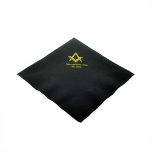 Regalia Store UK dsc_3612-300x300 Pack of 50 Personalised Masonic Serviettes Choice of Colours and Style