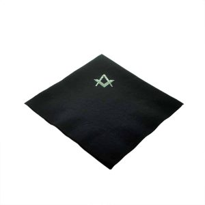 Regalia Store UK dsc_3616-300x300 Pack of 50 Foil Printed Masonic Square & Compass Serviettes (with or without G) in choice of colours
