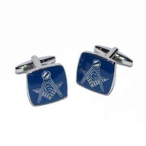 Regalia Store UK dsc_8138-300x300 Masonic Blue & Silver Cufflinks with G