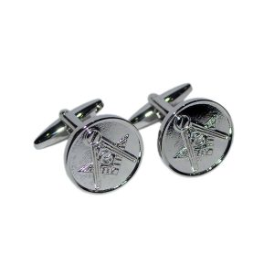 Regalia Store UK dsc_8143-300x300 Masonic Silver Cufflinks with G