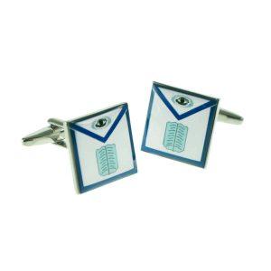 Regalia Store UK x2bocs300_chaplain-300x300 Apron Style Chaplain Masonic Cufflinks