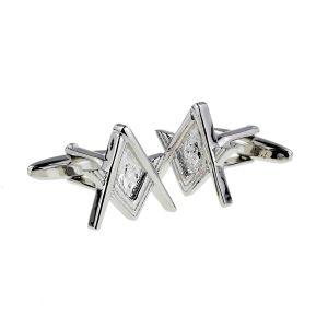 Regalia Store UK x2nc032-nog-300x300 Masonic Compass & Square Cufflinks No G