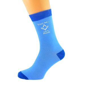 Regalia Store UK x6n632-300x300 Two tone Blue Unisex Socks Trust Me....I'm a Mason