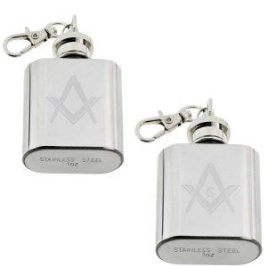 Regalia Store UK xhipkey1-masonic-300x300 Masonic Engraved 1oz Keyring Hipflask
