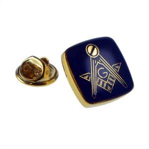 Regalia Store UK xmp002-300x300 Golden & Blue Masonic with G Lapel Pin Badge