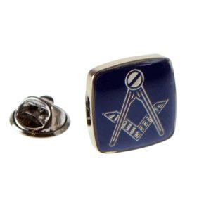 Regalia Store UK xnp240-300x300 Rhodium Plated & Blue Masonic Lapel Pin Badge