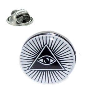 Regalia Store UK xompt237-300x300 All Seeing Eye Design lapel Pin Badge